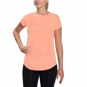 Kirkland Signature Active T-Shirt Orange Top Soft